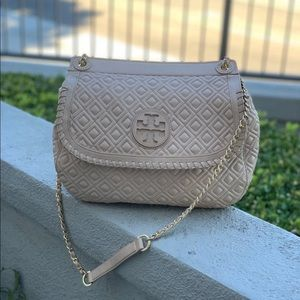 Tory Burch 'Marion' Quilted Convertible Bag